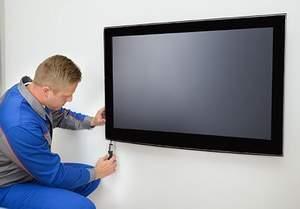صيانة شاشة التلفزيون